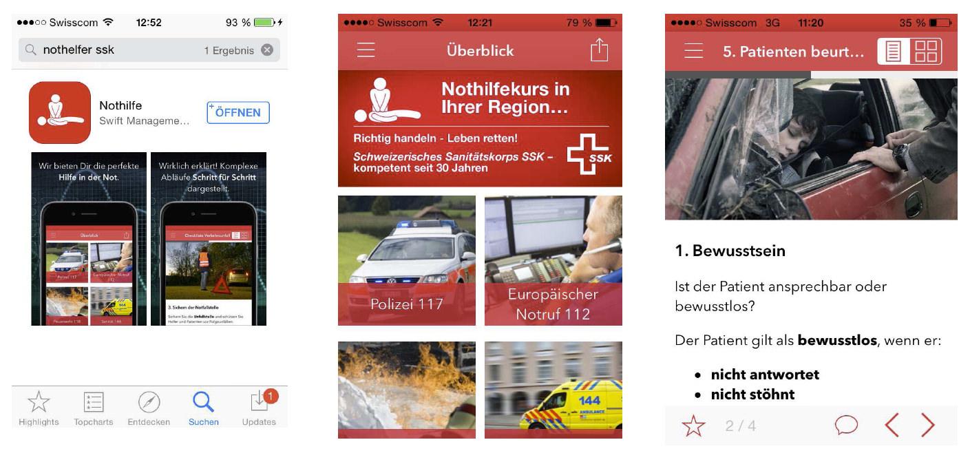 Nothilfe-App